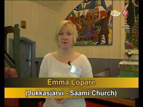 The Saami Church in Jukkasjärvi