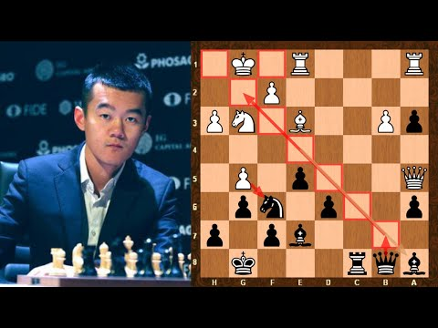 Amazing Blitz Chess Game ||  Magnus Carlsen vs Ding Liren || Sinquefield cup Blitz Tiebreak (2019)