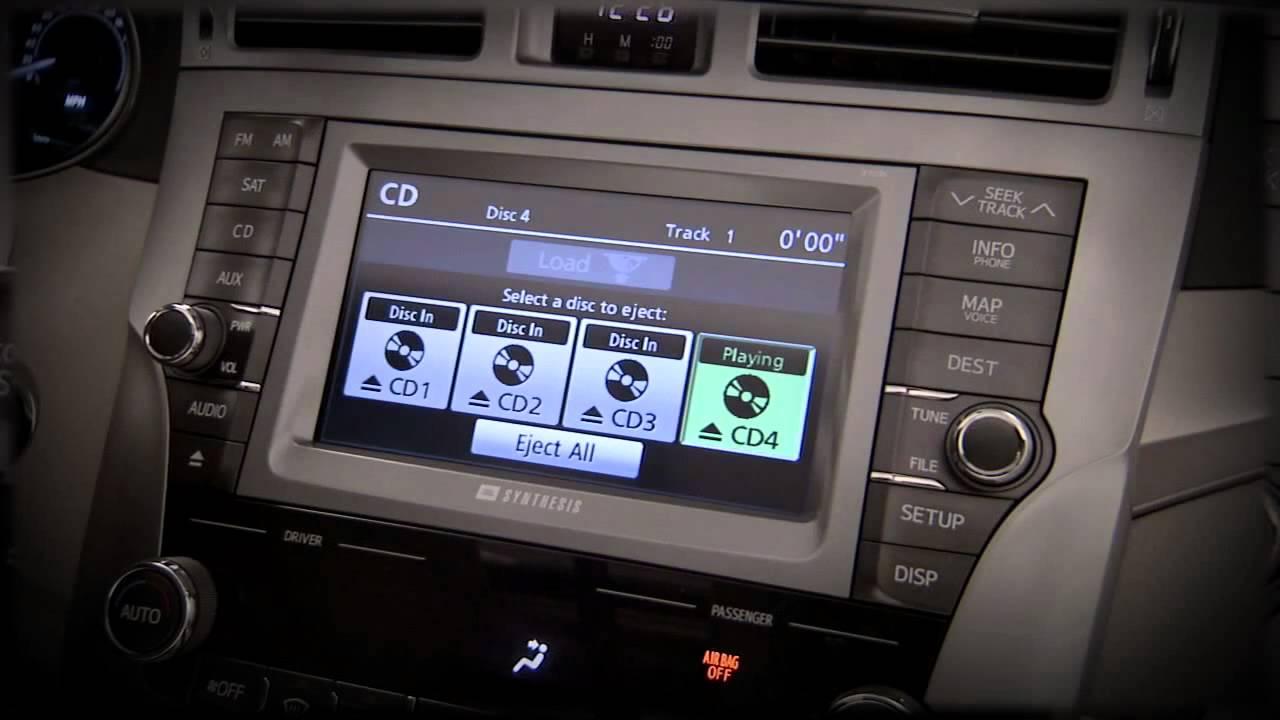 2011 2012 avalon jbl synthesis audio system with navigation youtube rh youtube com 2008 Avalon 2008 Avalon