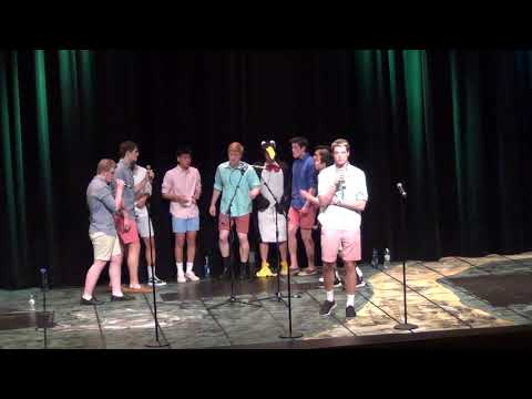 Green Day Mashup (A Cappella) - Wayland High School Testostertones