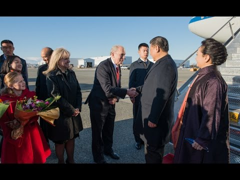 KTVA Live: Gov. Bill Walker welcomes China President Xi Jinping to Alaska