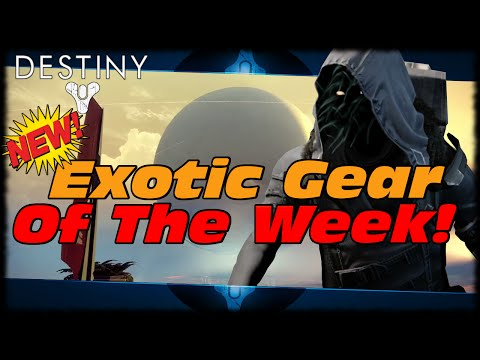 Destiny New Upgraded Exotic Gear Xur Agent Of The Nine! Purifier Robes & Eternal Warrior!