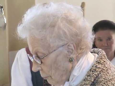 Magda Olivero canta nella Chiesa di Solda a 96 anni - Magda Olivero sings in Solda at 96