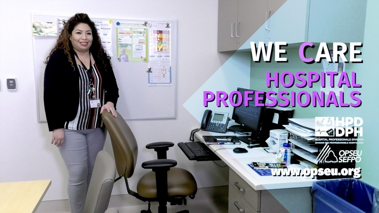 We Are Hospital Professionals Social Worker Youtube