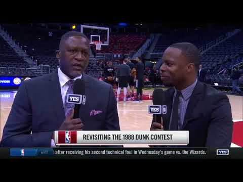 Greatest in-game NBA dunk thoughts with Dominique Wilkins