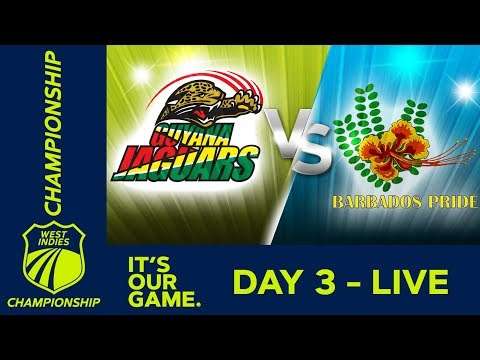 Guyana v Barbados - Day 3 | West Indies Championship | Sunday 6th January 2019