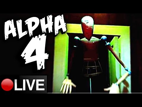 BASEMENT OPEN, DOUBLE JUMP, SECRET DOOR - Hello Neighbor Alpha 4 Full Livestream Gameplay