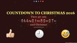 COUNTDOWN TO CHRISTMAS 2016 24 24/7