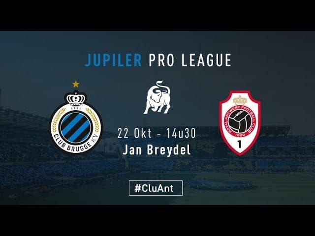 CLUB BRUGGE - ANTWERPEN | Matchverslag | 2017-2018
