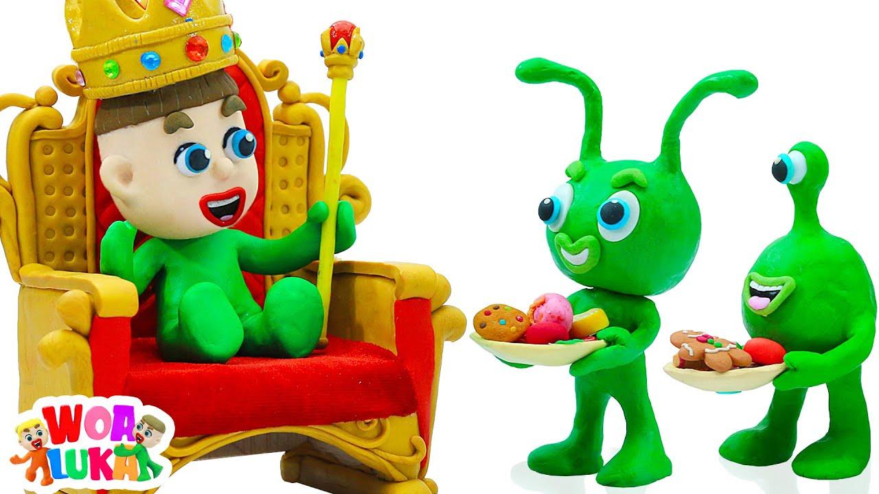 Vui Học cùng bé Luka 👨⚖️ Ông Hoàng Sao Hỏa 👨⚖️ Tập 120 Hoạt hình Vui Nhộn Cho Trẻ Em