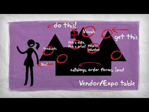 How To Set Up A Vendor Or Expo Table Youtube