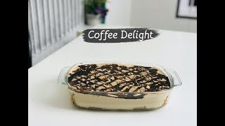 Coffee delight | Coffee dessert with cake rusk | beauty by rabbia