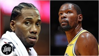 Why Clippers aren't crazy to target Kawhi Leonard & Kevin Durant | The Jump
