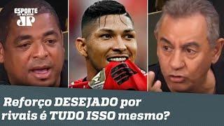 Palmeiras e Corinthians TRAVAM BRIGA por reforço! Mas será que ele é TUDO ISSO?
