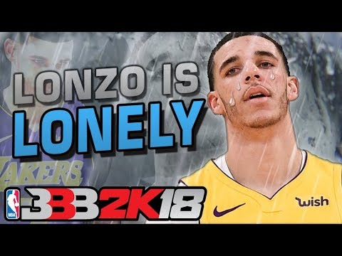 Lonzo Ball is Lonely NBA 2K18