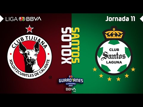 Club Tijuana Santos Laguna Goals And Highlights