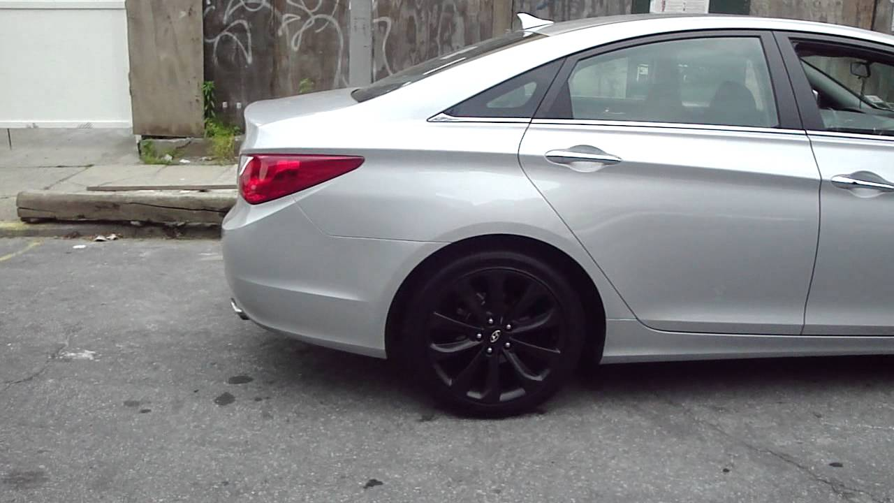 2011 Sonata Matte Rims Youtube