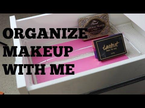 Let's Organize My Makeup!