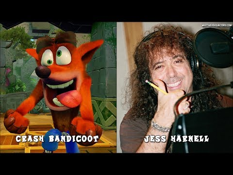 Crash Bandicoot N. Sane Trilogy Characters Voice Actors