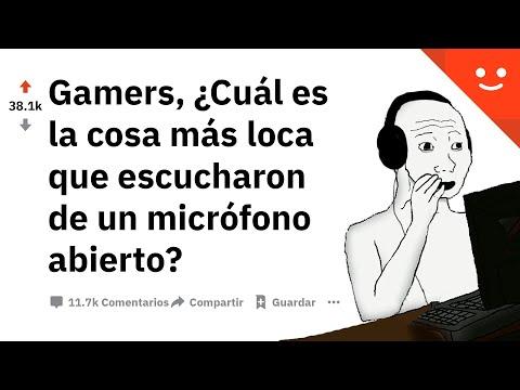 Gamers, ¿Cuál fue la cosa más loca que escucharon desde un microfono encendido? - AskReddit Español