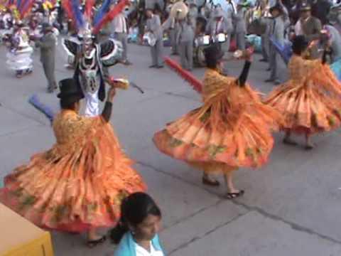 Fiesta en la Paz Bolivia