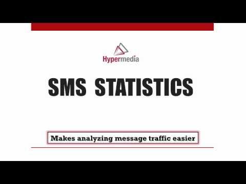Hypermedia SMS Statistics