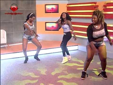 Cesaltina de Brilho marca presença no Made in Angola com a música «Mazozo» | TV Zimbo |