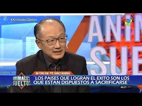 "Jim Yong Kim (Presidente del Banco Mundial) en ""Animales sueltos"" de Alejandro Fantino - 17/08/17"