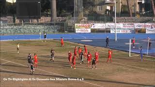 Eccellenza Girone A Grosseto-S.Miniato B. 0-0 (GS TV)