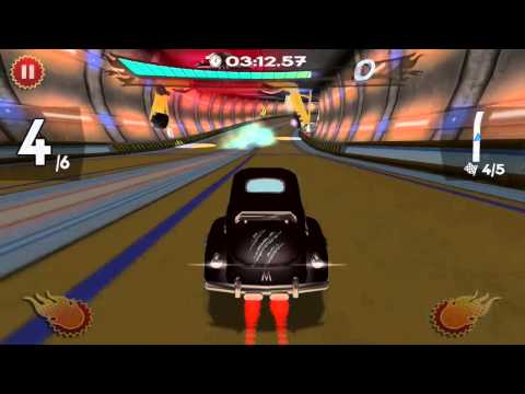 Retro Future Racing - Magma Mobile Game