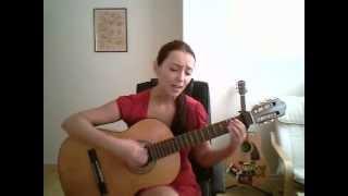 """Girl from Sarajevo covers """"Miss Sarajevo"""" by U2--Nadja Halilbegovich"""