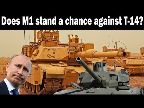 Does M1 Abrams stand a chance against Russian T-14 Armata?