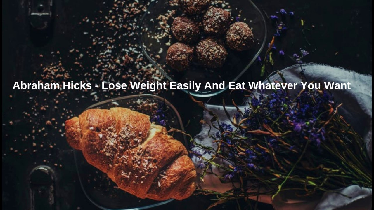How to lose weight eating whatever you want