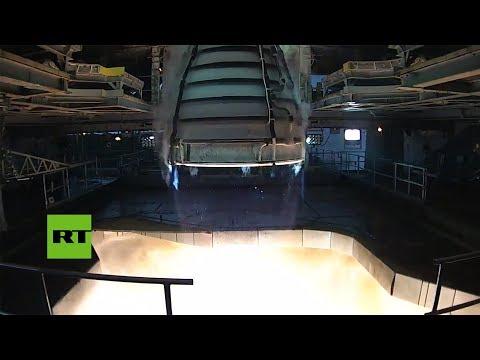 Mirá el motor que prueban para propulsar al hombre hacia Marte