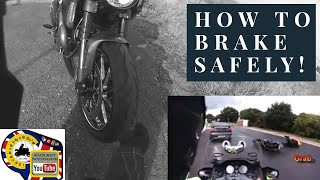 Lesson - Brief explanation of braking and a fun ride on my Diavel Carbon (now sold)