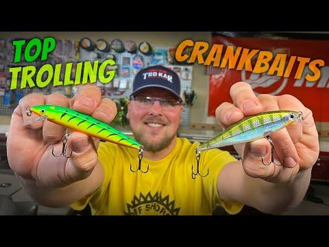 TOP 4 WALLEYE CRANKS!!  -  Top Spring Trolling Baits  -  Southern WI
