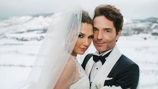 Daisy Fuentes and Richard Marx Marry In Aspen Winter Wedding
