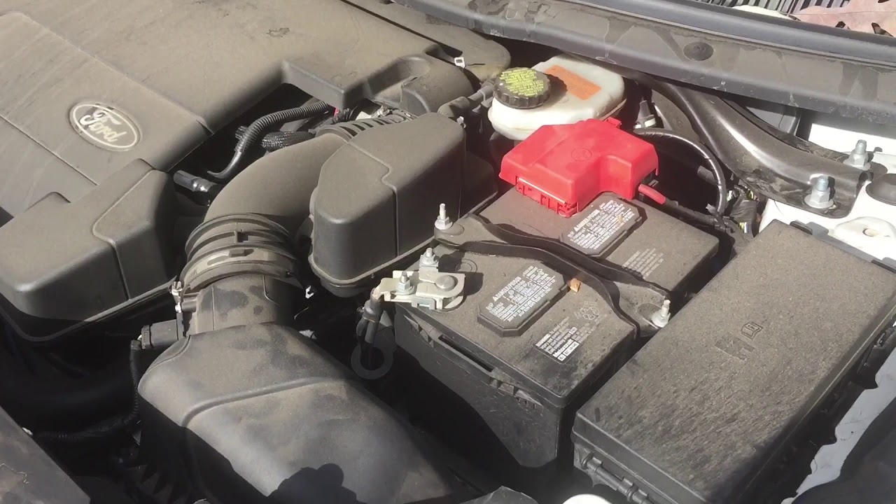 Changing The Battery In A  Ford Explorer