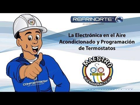 Reparacion tarjeta aire acondicionado doovi for Clases de termostatos