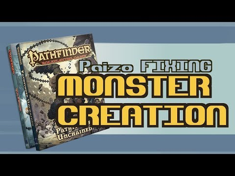 Pathfinder : Simple Monster Creation
