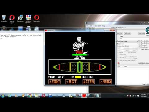 undertale cheat engine