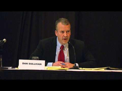 Dan Sullivan name drops Harry Reid many times at Senate debate