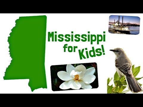 Mississippi for Kids | US States Learning Video