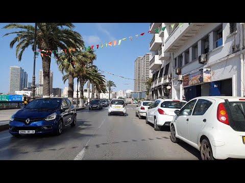 Driving in oran Algeria 28 06 2021 وهران الجزائر