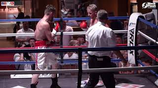 JEFF SAUNDERS VS RHYS SAUNDERS - BLACK FLASH PROMOTIONS - BBTV