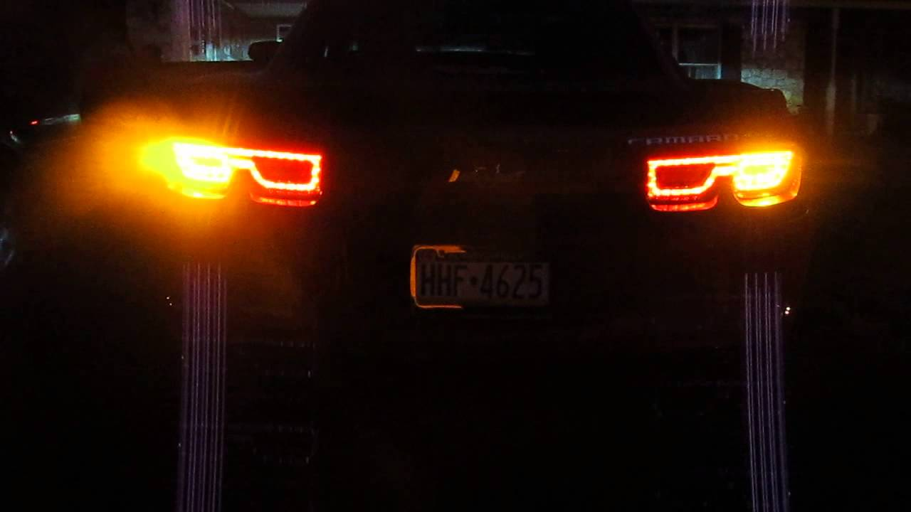 2010 Usa Camaro With European Taillights Youtube