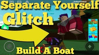 Separate Body Parts Glitch Build a Boat For Treasure ROBLOX