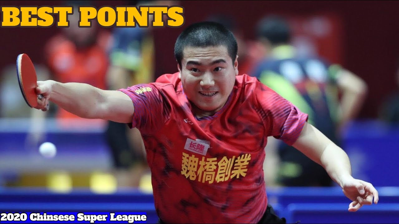 Best Points Of Liang Jingkun 梁靖崑 | 2020 Chinsese Super League