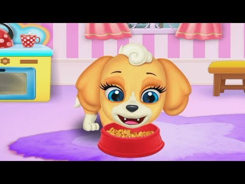 My Cute Little Pet Puppy Care - Kids Learn How to Take Care of Cute Puppy