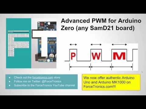 Advanced PWM for Arduino Zero or any Atmel SAMD21 Based